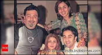 Ranbir's throwback pic with Rishi-Neetu