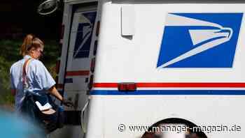 United States Postal Service:Bundesrichter stoppt Donald Trumps Pläne