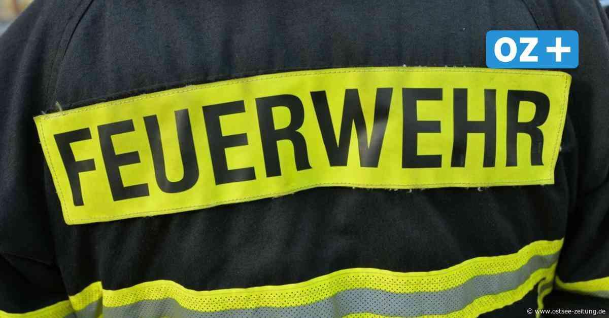 Boizenburg: Brand im Fliesenwerk - Ostsee Zeitung