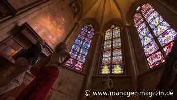 Gerhard Richter: Richter-Fenster im Kloster Tholey enthüllt