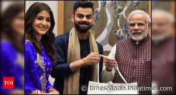 Anushka-Virat thank Modi for his wish