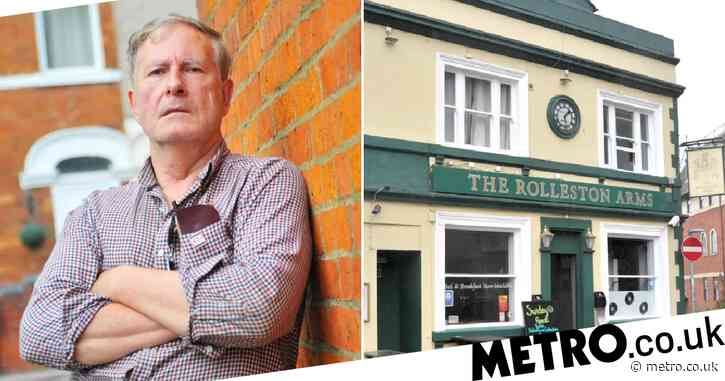 Angry pensioner demands pub removes bench after he tripped over it