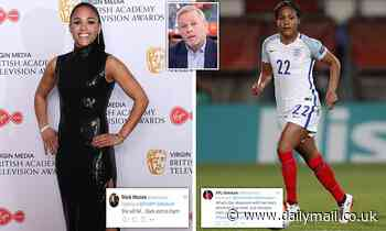 Boss of troll hunting firm says Alex Scott is a 'prime target' for abuse