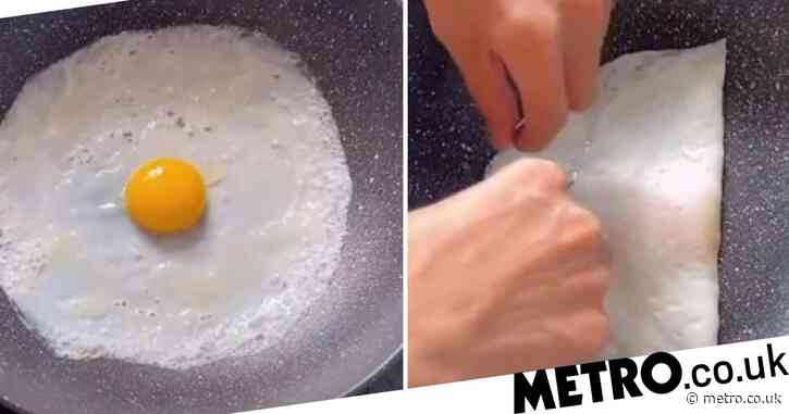 How to make the 'eggvelope' folded egg you've seen all over TikTok