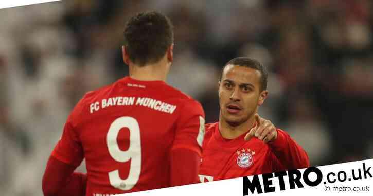 Robert Lewandowski sends class message to Thiago ahead of Liverpool transfer