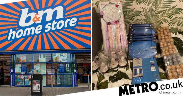 Man spends £3.30 on what should have been a £154 B&M haul
