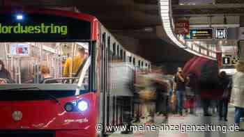 Alarm in Nürnberg: Mann mit Schusswaffe und Messer in U Bahn - Großeinsatz der Polizei