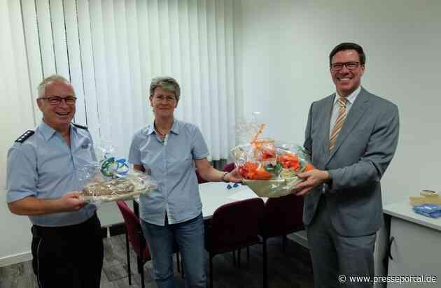 POL-RBK: Rheinisch-Bergischer Kreis - Landrat begrüßt Mitarbeiter/innen der Kreispolizeibehörde in ihren neuen Büroräumen