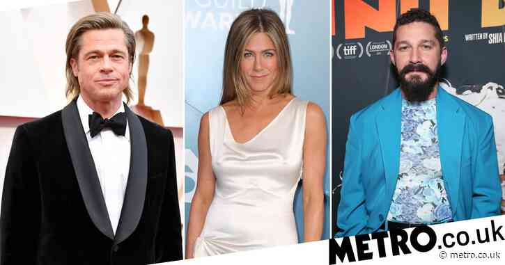 Shia LeBeouf steals show with zany appearance on star-studded charity table read which reunites Brad Pitt and Jennifer Aniston