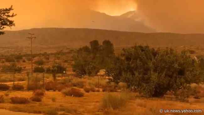Evacuations Ordered as Bobcat Fire Grows to More Than 55,000 Acres