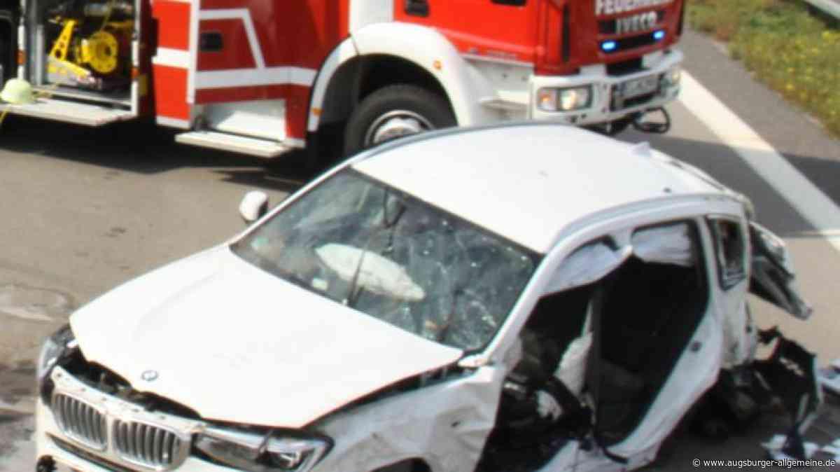 Fahrer will rechts überholen und verursacht schweren Unfall auf der A9 im Kreis Eichstätt - Augsburger Allgemeine