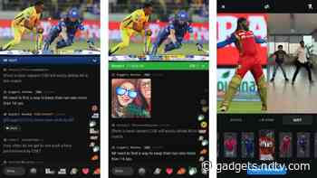 IPL 2020 Live: Disney+ Hotstar Adds New Features to Bring In-Stadium Experience to Your Home