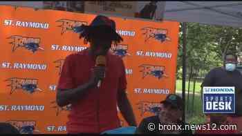 Saint Raymond basketball star commits to Dayton - News 12 Bronx