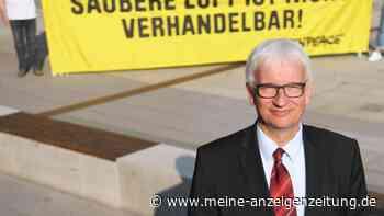 Umwelthilfe-Chef Jürgen Resch fliegt Kurzstrecke – will aber Diesel-Fahrverbote