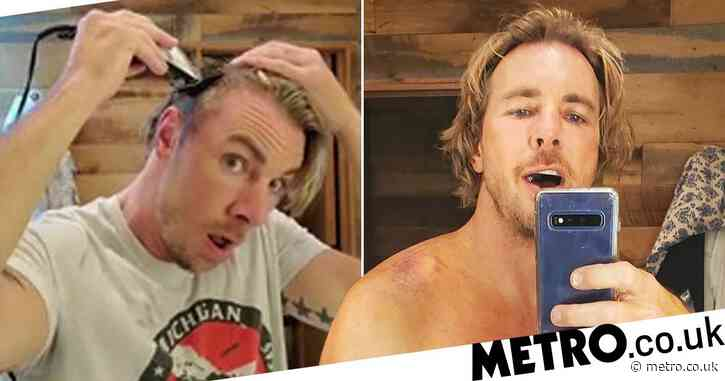 Dax Shepard shaving his head to match his daughter's new haircut is serious dad goals