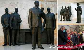 Dwight D. Eisenhower memorial is opened in Washington