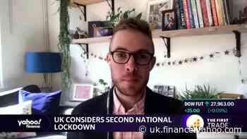 UK considers second national lockdown