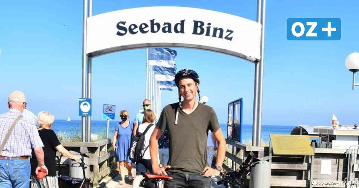 Bis Binz: 20-Jähriger legt 2700 Kilometer mit dem Rad zurück - Ostsee Zeitung