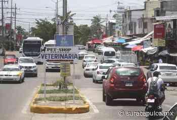 Mantienen alta movilidad la Colosio, Llano Largo y La Poza tras la reactivación económica - El Sur de Acapulco
