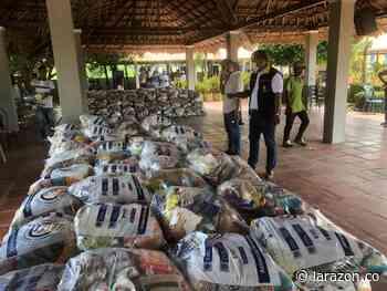 Entregan 3.685 kits de alimentos a indígenas en San Andrés de Sotavento - LA RAZÓN.CO