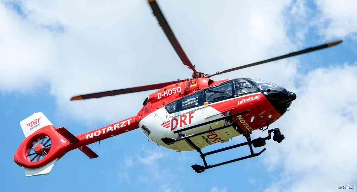Schwerer Unfall auf der L623 bei Karlsbad - Autofahrer gerät in Gegenverkehr - BNN - Badische Neueste Nachrichten