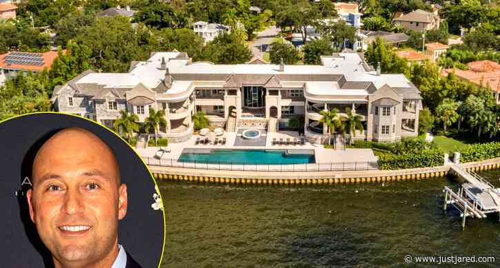 Derek Jeter Is Selling His Tampa Home for $29 Million - Look Inside the Mega-Mansion!