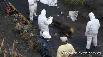 De nuevo la tragedia llegó a Socha, Boyacá: Dos mineros muertos tras brutal explosión - Extra Boyacá