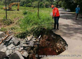 Moradores de Las Minas en Cerro Silvestre, Arraiján, piden nuevo puente vehicular - Panamá América