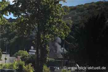 Brand einer Halle in Bad Breisig - Blick aktuell