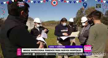 Minsal inspecciona terrenos para nuevos hospitales de Coronel y Lota - Canal 9 Bío Bío Televisión