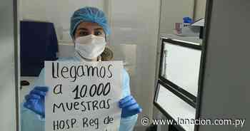 COVID-19: laboratorio de Coronel Oviedo llega a 10.000 muestras - La Nación