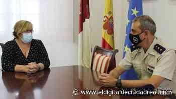 La Junta desea muchos éxitos al teniente coronel, Santiago Rubio, nuevo jefe de la base BHELA I de Almagro - El Digital de Ciudad Real