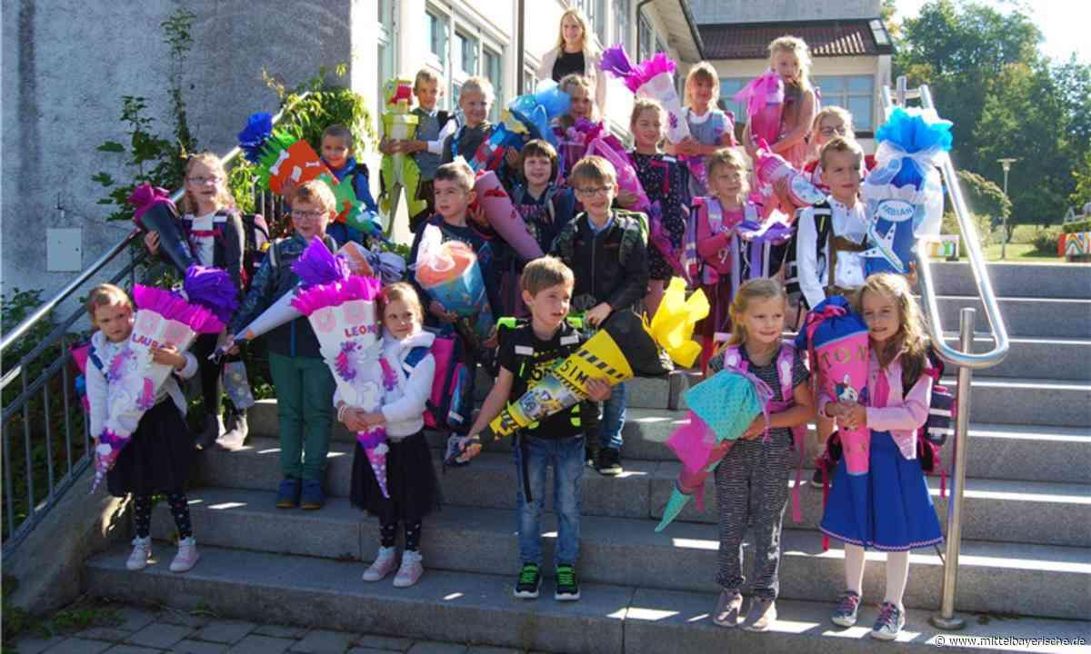 Erster Schultag für 40 Abc-Schützen in Stamsried - Mittelbayerische