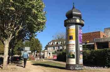 Une colonne Morris érigée à Noisy-le-Roi : «C'est plus joli qu'un panneau !» - Le Parisien