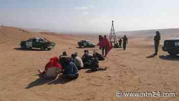 Fueron rescatados 23 migrantes venezolanos en el desierto de Arica, Chile - NTN24