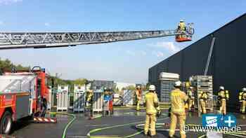 Menden: Sechsstelliger Schaden nach Brand bei Klotz - WP News