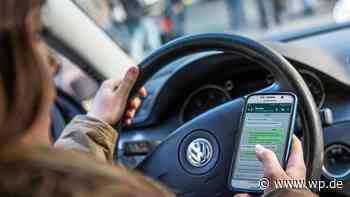 Menden und Fröndenberg: Erschreckend viele Handys am Steuer - WP News