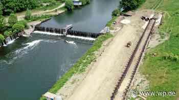 Menden: Wasserkraftanlage Schwitten jetzt mit Fischtreppe - WP News
