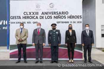 Conmemoran Gesta Heroica en San Juan del Rio - Plaza De Armas