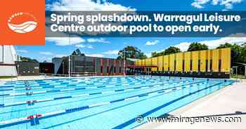 Warragul Leisure Centre outdoor pool set to open earlier - Mirage News