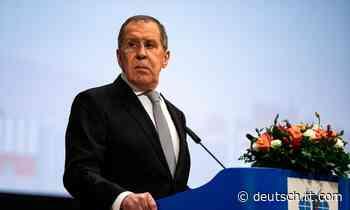 Politisches Tauziehen und Hetze gegen Russland: Sergei Lawrow zur Krise in Weißrussland - RT Deutsch