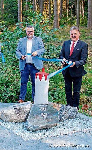 Stammbach/Gefrees: Ein Stein für drei Landkreise - Frankenpost