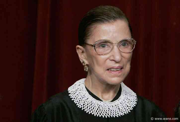 President Trump, Indiana lawmakers react to passing of Ruth Bader Ginsburg