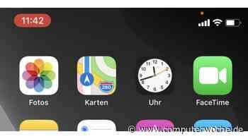 Neu in iOS 14: Was bedeutet der orange oder grüne Punkt im Display?