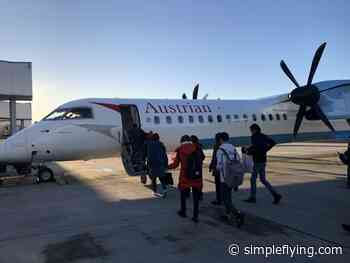 Croatia Airlines Receives Ex Austrian Airlines Dash 8 - Simple Flying