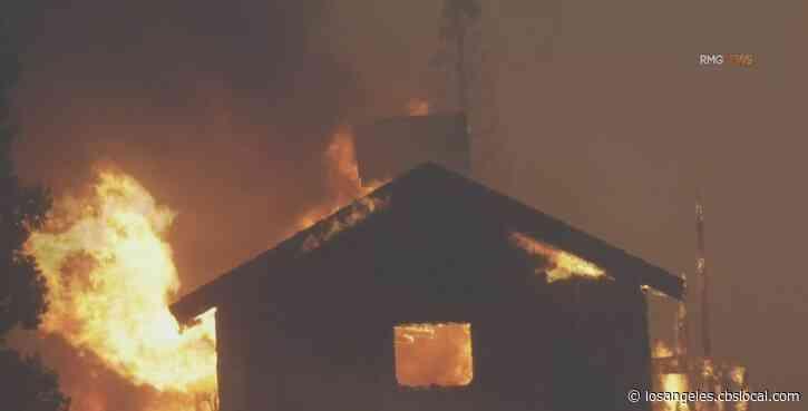 Homes Burned As Bobcat Fire Spreads, Mount Wilson Still Threatened