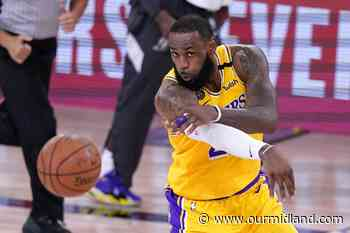 Lakers roll past Nuggets 126-114 in West finals opener - Midland Daily News