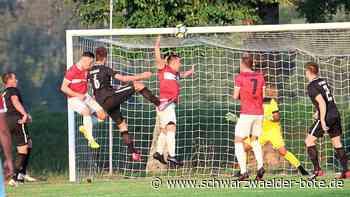 Fußball: VfB Bösingen gewinnt gegen Trossingen - Fußball - Schwarzwälder Bote