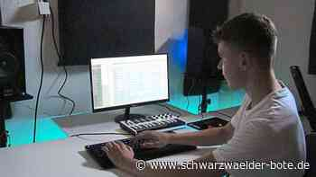 Trossingen: 15-jähriger produziert Musik für Rapper - Schwarzwälder Bote