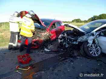 Accident à Saint-Maurice en Quercy - Medialot